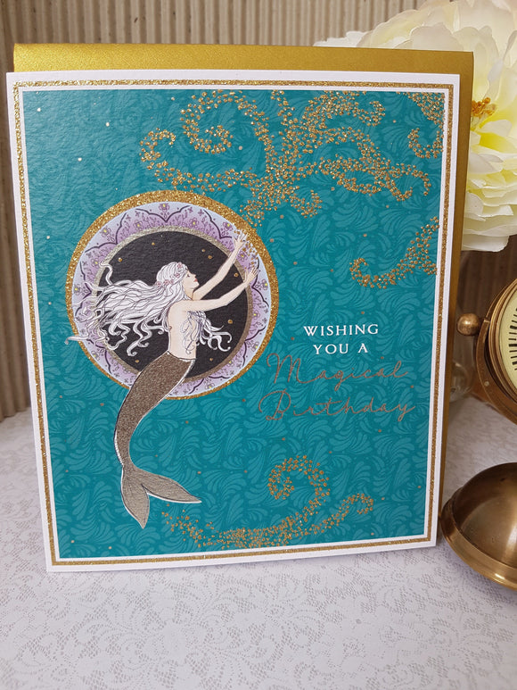 PaperLink Mermaid Birthday Card - Ash & Dove