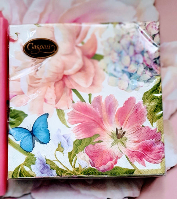 Chelsea Garden Paper Dinner Napkins by Caspari Shopping Caspari