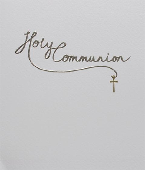 Paperlink Holy Communion Card - Ash & Dove