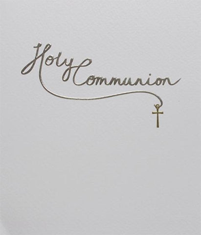 Paperlink Holy Communion Card