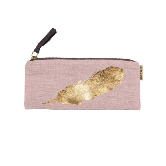 Pale Pink Pouch by Artebene Shopping,Gifts Artebene