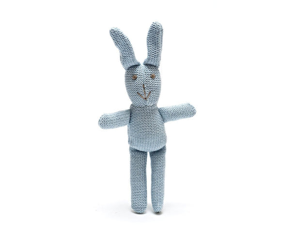 Best Years Blue rattle bunny - Ash & Dove