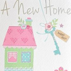 Paperlink A New Home Greeting Card - Ash & Dove