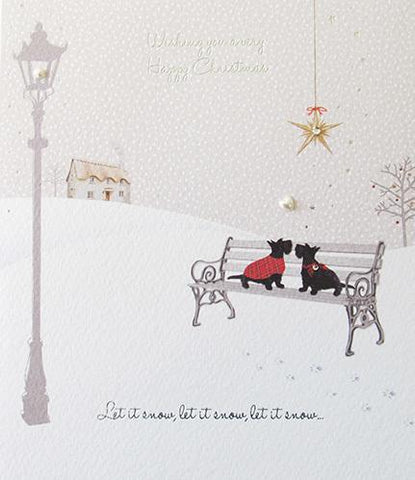 Paperlink Wishing you a very Happy Christmas & Happy New Year - Ash & Dove