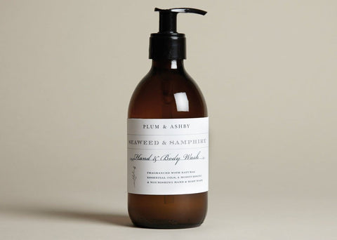 Plum and Ashby Green Fig & Lavender Hand & Body Wash - ash-dove