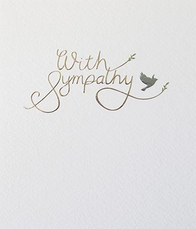 Paperlink With Sympathy silver foil - ash-dove