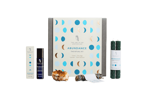 Adundance Ritual Crystal Healing Kit Christmas Shop,Shopping The Owl and The Apothecary