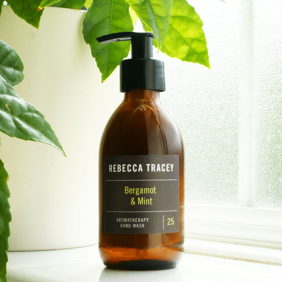 Bergamont and Mint Hand Wash by Rebecca Tracey Body Wash Rebecca Tracey