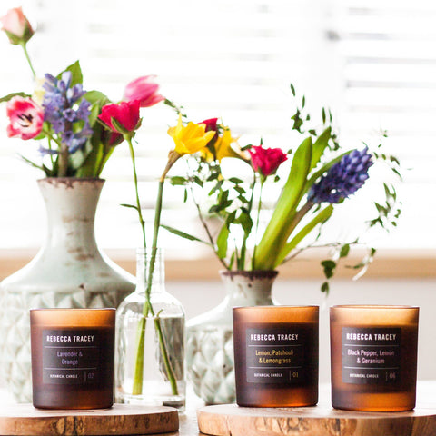Black Pepper, Lemon & Geranium Candle Shopping,Gifts,Candles Rebecca Tracey