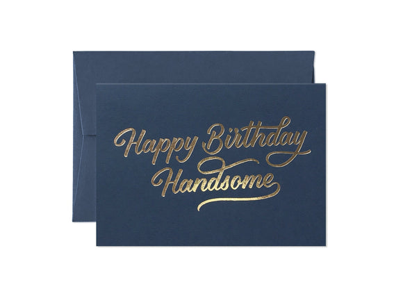Card Nest Happy Birthday Handsome Card - Ash & Dove
