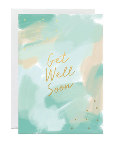 Get Well Soon Card Greeting Cards Ricicle Cards