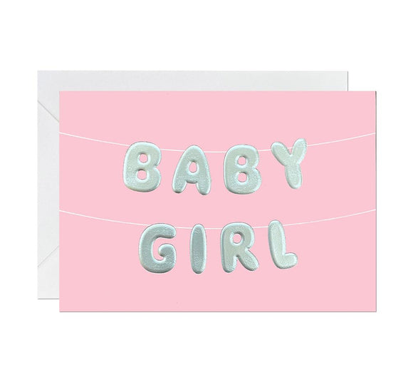 Baby Girl Card Greeting Cards Ricicle Cards
