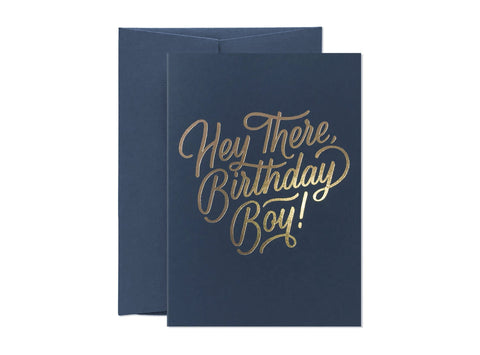 Card Nest Birthday Boy Card - ash-dove