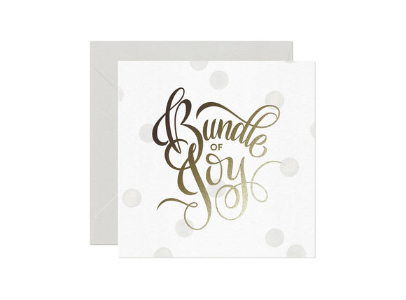 Card Nest Bundle of Joy  Card - ash-dove
