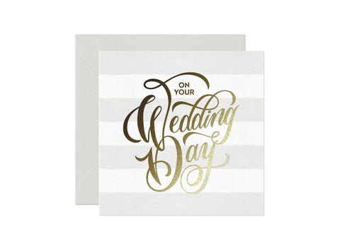 Card Nest On Your Wedding Day Card - ash-dove