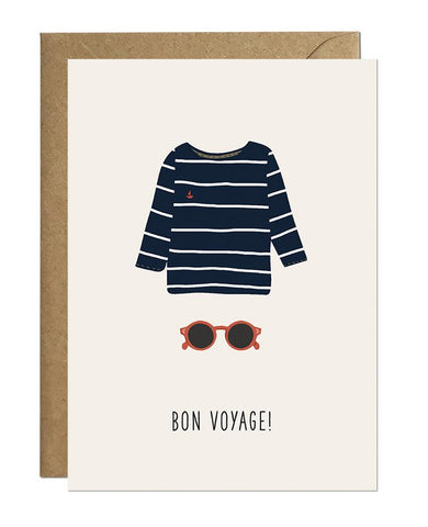 Bon Voyage Greeting Card Greeting Cards Ricicle Cards