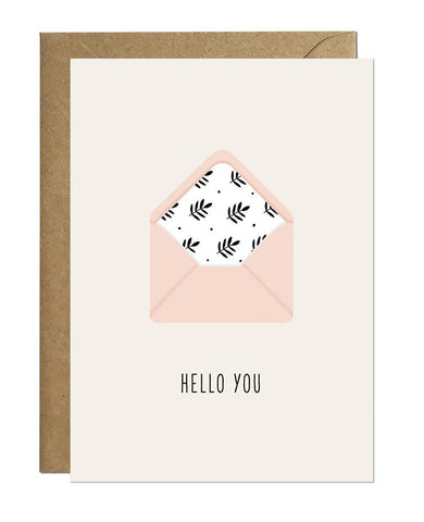 Hello You Card Greeting Cards Ricicle Cards