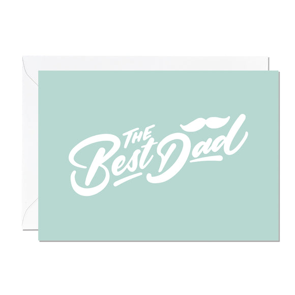 Best Dad Card Greeting Cards Ricicle Cards