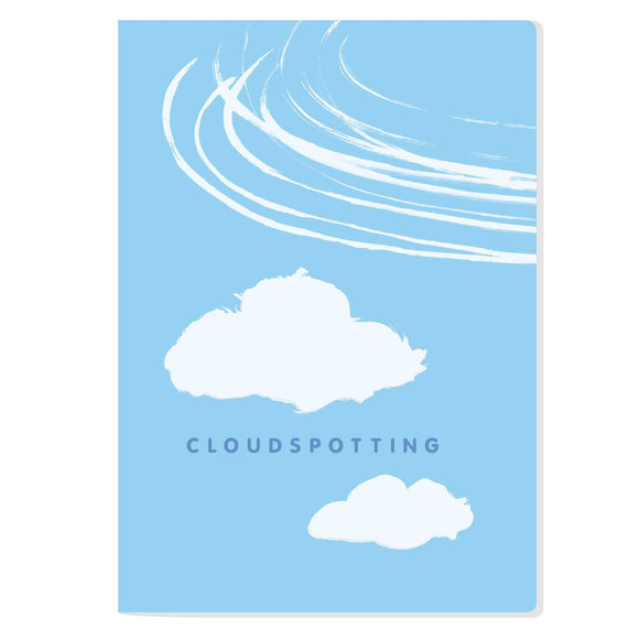 The Unemployed Philosopher's Guild Cloud Spotting Notebook - ash-dove