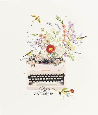 Typewriter Card Greeting Cards Paperlink