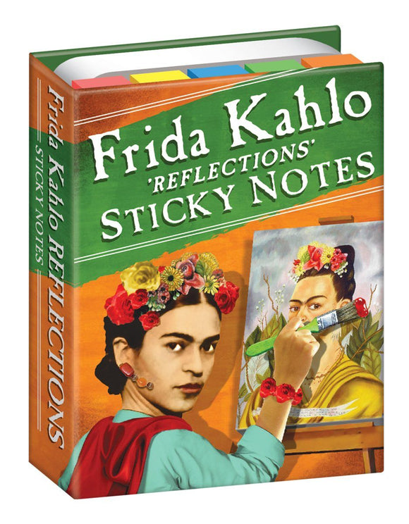 The Unemployed Philosopher's Guild Frida Kahlo Sticky Notes - Ash & Dove