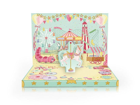 Fun Fair Musical pop up card by My Design Collections - ash-dove