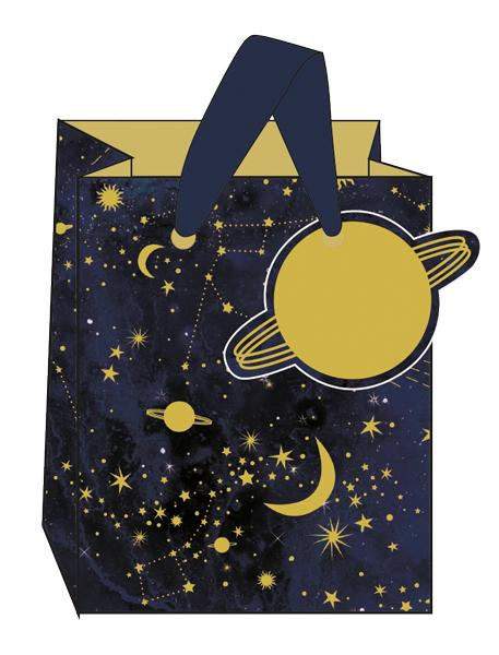 Small Constellations Gift Bag by The Artfile Stationery The Artfile