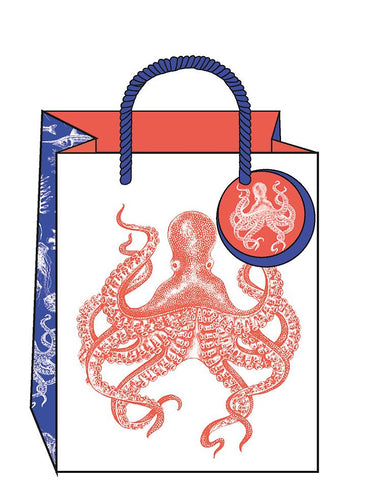 Small Ocean Gift Bag by The Artfile Stationery The Artfile