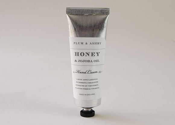 Plum and Ashby Luxury Hand Cream Honey & Joboba Oil - Ash & Dove