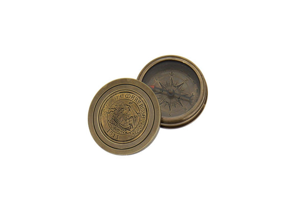 London Ornament's Mary Rose Compass - Ash & Dove