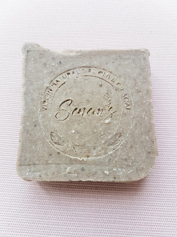 Front of Volcanic Clay Soap for greasy skin