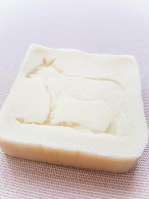 Front of Natural Donkey Milk Soap