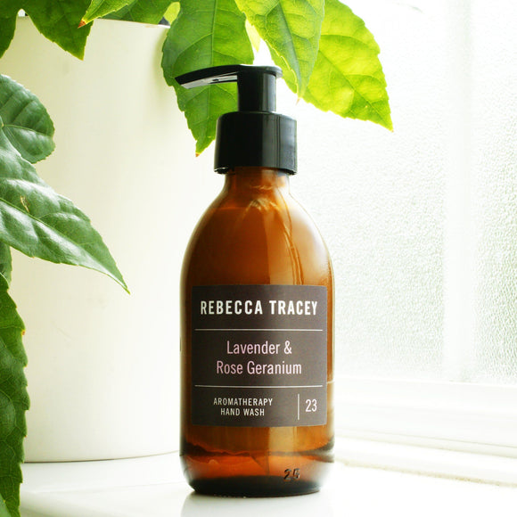 Lavender and Rose Hand Wash by Rebecca Tracey Body Wash Rebecca Tracey