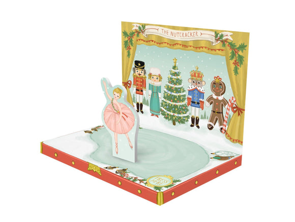 The Nutcracker Musical pop up card by My Design Collections - Ash & Dove