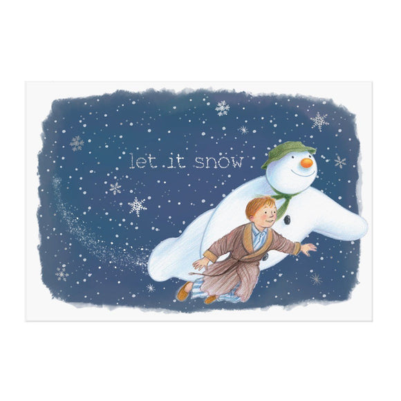 The Snowman Music Pop up card by My Design Collections - Ash & Dove