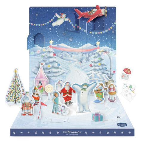 The Snowman Music Box Advent Calendar Christmas Shop My Design Collections