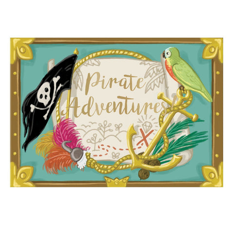 Music Box card - Pirate Adventure Musical pop up card by My Design Collections Greeting Cards My Design Collections