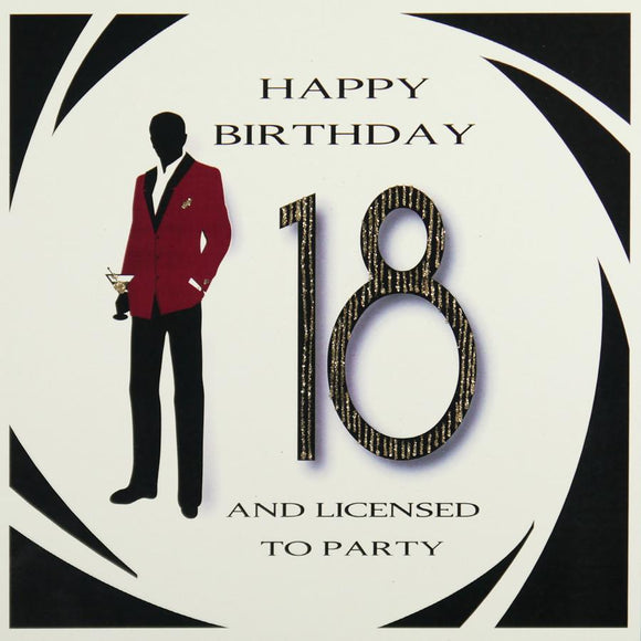 18th Birthday Card by Five Dollar Shake Greeting Cards Five Dollar Shake