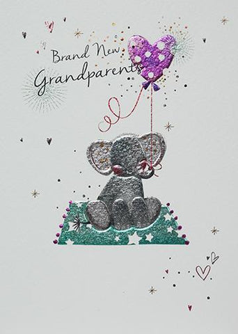 Brand New Grandparents Greeting Card by Paperlink Greeting Cards Paperlink