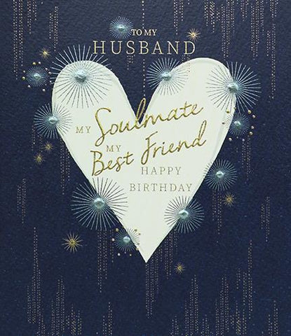 Husband Happy Birthday Card Greeting Cards Paperlink