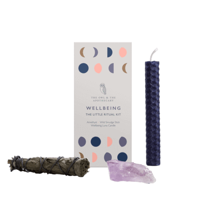 Wellbeing Little Ritual Kit Shopping,Christmas Shop The Owl and The Apothecary