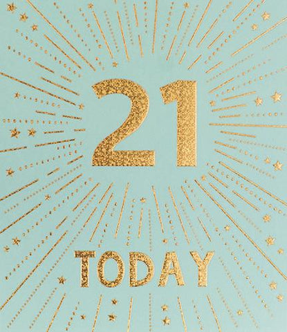 21st Birthday Card Greeting Cards Paperlink