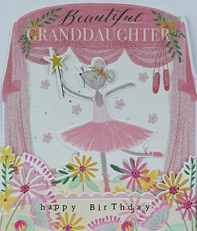 Beautiful Granddaughter Birthday Card Greeting Cards Paperlink