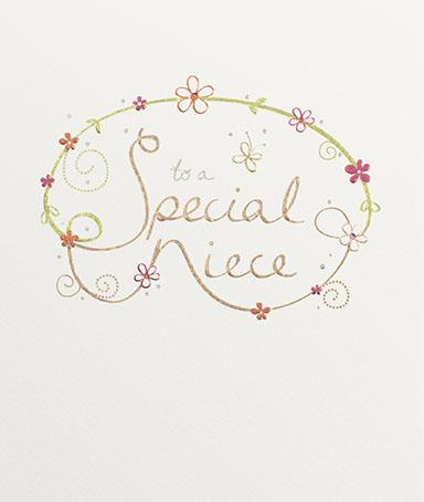 Special Niece greeting card by paperlink Greeting Cards Paperlink