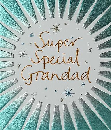 Super Grandad Birthday Card Greeting Cards Paperlink