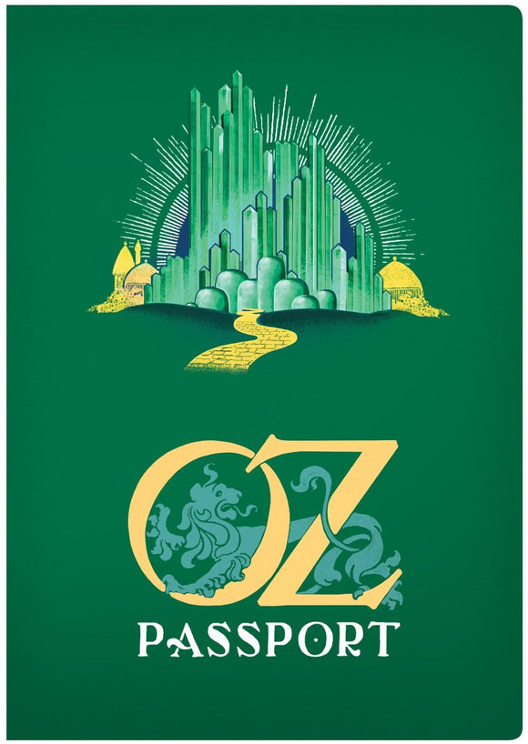 The Unemployed Philosopher's Guild Oz Passport - ash-dove