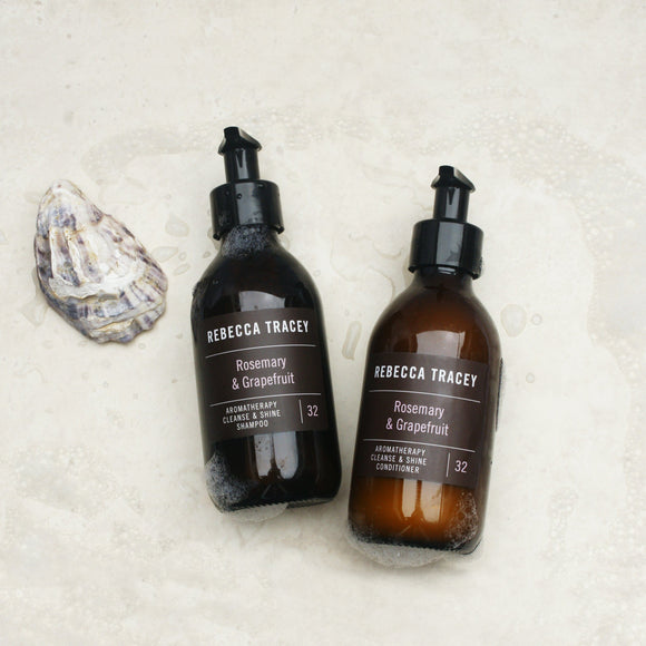 Rosemary and Grapefruit Shampoo by Rebecca Tracey Wellbeing Rebecca Tracey