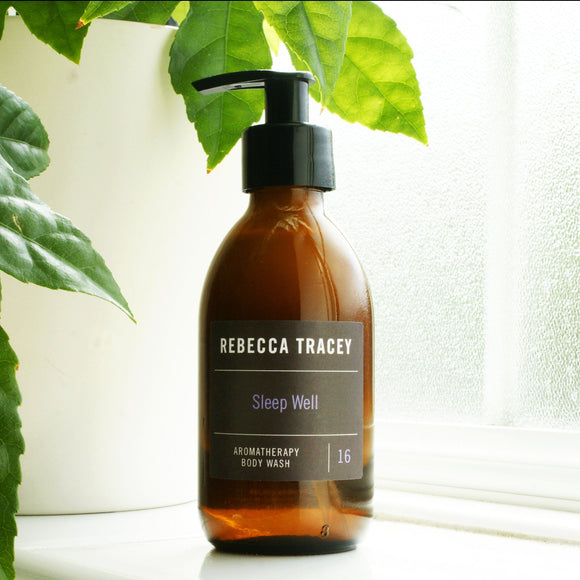 Sleep Well Aromatherapy Body Wash by Rebecca Tracey Wellbeing Rebecca Tracey