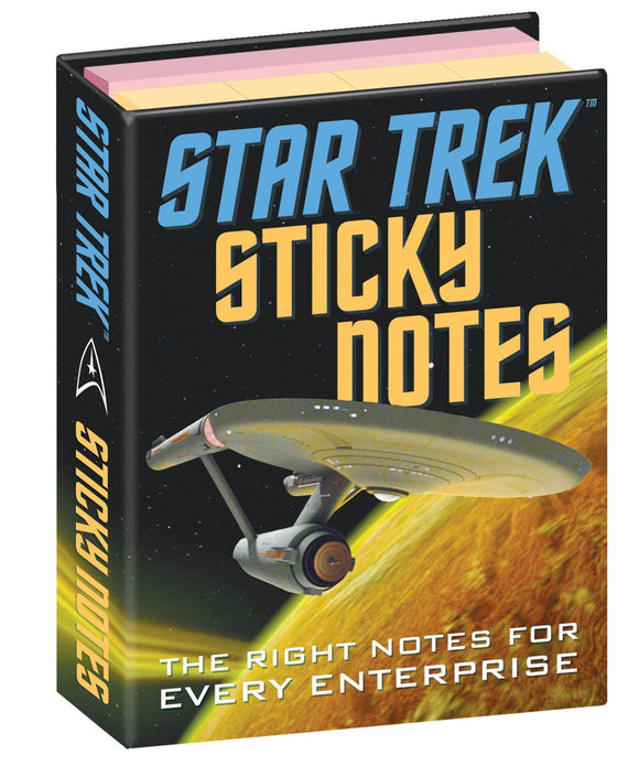 The Unemployed Philosopher's Guild Star Trek Sticky Notes - Ash & Dove