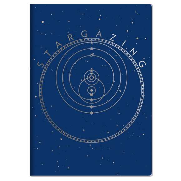 The Unemployed Philosopher's Guild Star Gazing Notebook - ash-dove